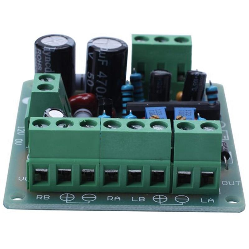DC 12V Power Amplifier VU Meter Driver Board DB Audio Level Meter VU Header Driver Speaker TA7318P DENON 5