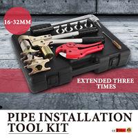 PEX 1632 Manual Rehau Pex Pipe Sleeve Expander Press Plumbing Tool Kit 16 32 mm