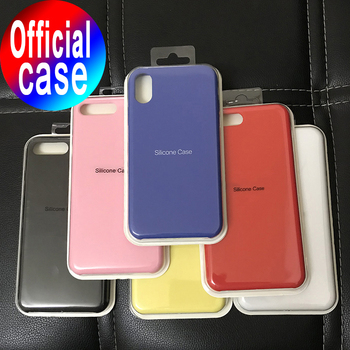 цена на Luxury Silicone Case For iphone 7 6 8 Plus Back Cover on Apple iphone 11 Pro X XS MAX XR 6S 7 Plus Cover Case