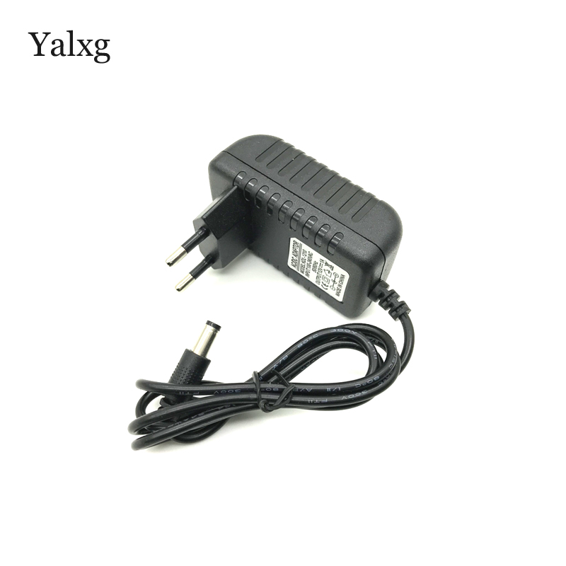 Yalxg AC 100-240V Converter Adapter 12V1A Power Adapter Supply AC/DC Adapter DC 12V 1A Charger Power Supply EU/US Power Plug