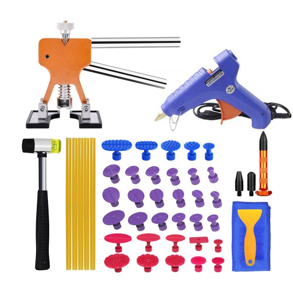 Car Repair Tools Dent Removal Kit For Cars Door Dent Puller Pops-a-Dent Tool Hail Damage Sheet Metal Tools PDR Kit