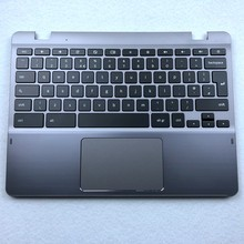UK Keyboard For Samsung XE550C22 Chromebook top Pamrest Assembly - BA75-04142A UK Layout
