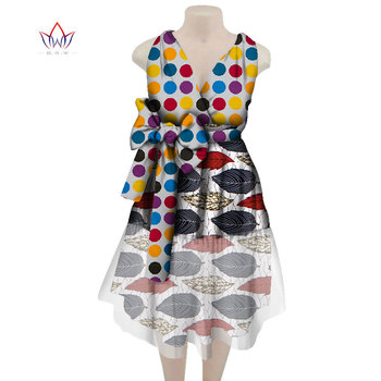 African Dress For Women Autumn Vintage Maxi Dress Dashiki African Bazin Knee-length Sleeveless Dress Plus Size Clothing WY4049 цена 2017