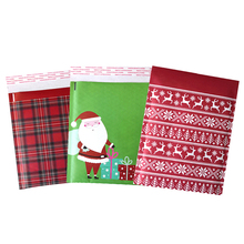 Christmas Santa Claus Printed Shockproof Express Packaging Bag Thickened Bubble Kraft Paper Mailers Envelopes Mail Bag