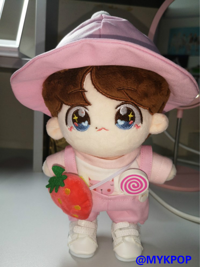 Kpop plush Doll Accessories Super Cute Hats For 20cm And 15cm Doll.