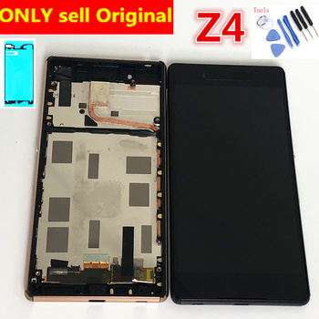 Original 5.2 IPS For SONY Xperia Z3 Plus E6533 E6553 LCD Screen Touch with Frame For SONY Xperia Z4 LCD Display Screen original 4 6 lcd for sony xperia z3 compact display touch screen with frame z3 mini d5803 d5833 for sony xperia z3 compact lcd