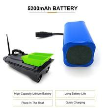 Bateria de 7.4v 5200mah lipo para flytec 2011-5 1.5kg que carrega o barco de controle remoto