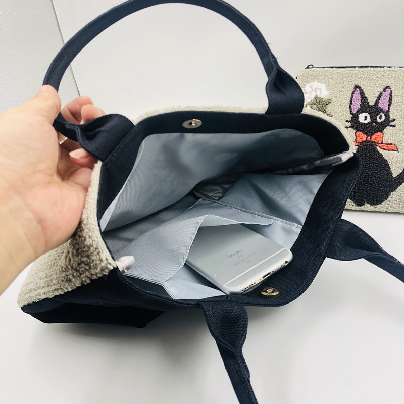 Cute Totoro & Kiki's Delivery Service Bag
