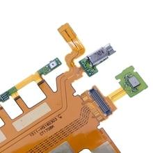 Power Switch Microphone Flex Cable Mobile Phone Par