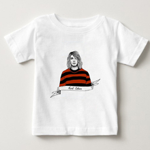 Kurt Cobain Nirvana Rock T Shirt Boy girl