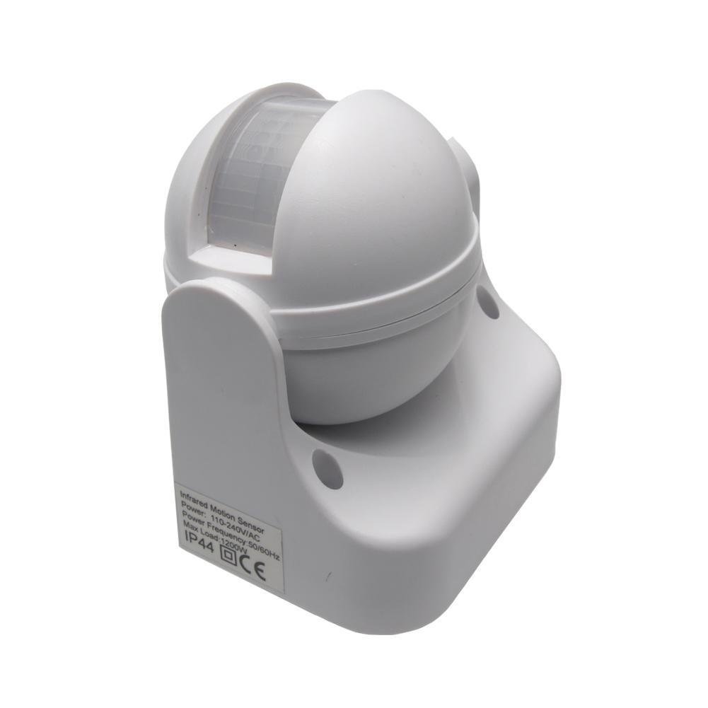 Outdoor 180° Degree Security PIR Motion Movement Sensor Detector Switch