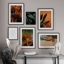 Natural Plant Leaves Quote Abstract Fluid Wall Art Canvas Painting Nordic Posters And Prints Wall Pictures For Living Room Decor cactus coconut leaves quote wall art canvas painting nordic posters and prints landscape wall pictures for living room decor