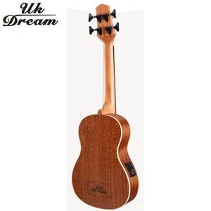 Image 4 - 30 インチウクレレ低音rosewooden 4 弦楽器木製ギタープロ低音ウクレレミニギターUB 513