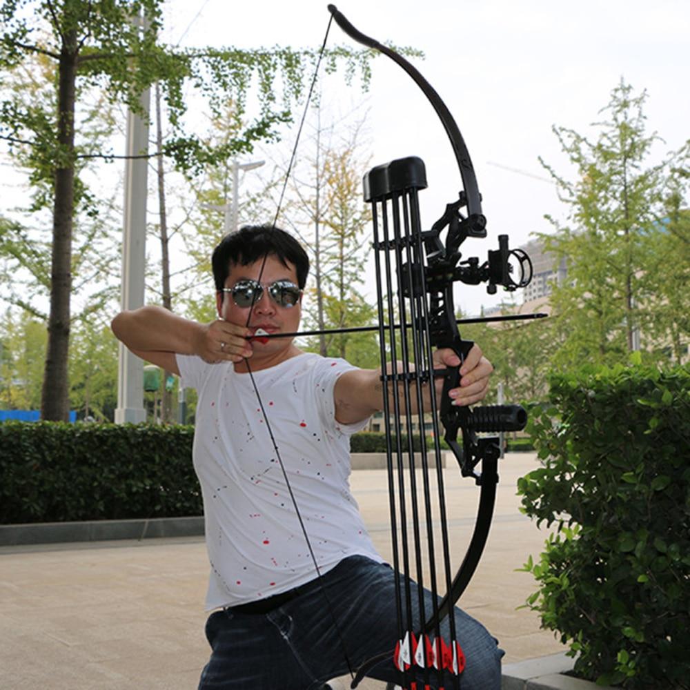"Carbon Fiber Arrows 54/"" Hunting Takedown 30//40LB Shooting Wooden Arrows"