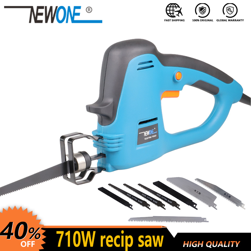 Electric Power tools 710W reciprocating saw Saber saw Hand saw for wook metal plastic hedge trimmer