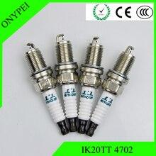 IK20TT 4702 (4 stücke) Dual Iridium Power Zündkerze Für Chery Toyota Jeep Subaru IK20 TT IK20 TT