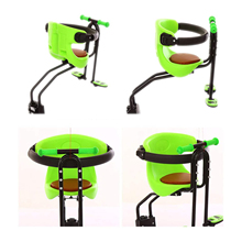 Bike Bicycle Safety Baby Kids Seat Saddle Children Front Mount Carrier