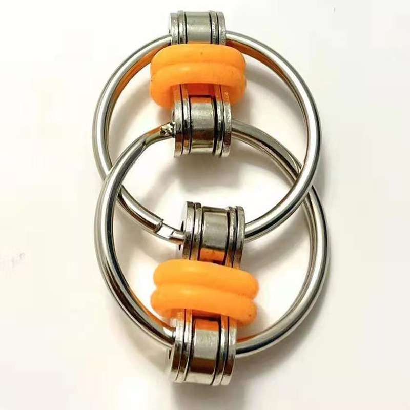 Toys Bike-Chain Fidget-Toy Autism Stress Hands ADHD Children for Funny 1PC 5-Colors Creative img4