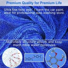 40*50cm araba yıkama mikrofiber havlu araba bakım parlatma peluş yıkama kurutma havlu kalın peluş Polyester elyaf araba temizlik bezi
