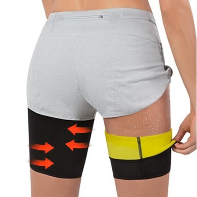 Women Body Shaper Sauna Slimmer Arm Thigh Leg Trimmer Sleeves Compression Belt Sweat Shaping Fat Burning Leg Warmers Corset 1