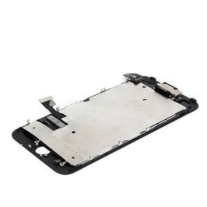Image 2 - IPhone 7 için OEM LCD 7 artı ekran tam Set Digitizer meclisi 3D dokunmatik ekran değiştirme + ön kamera + kulaklık hoparlör + hediyeler