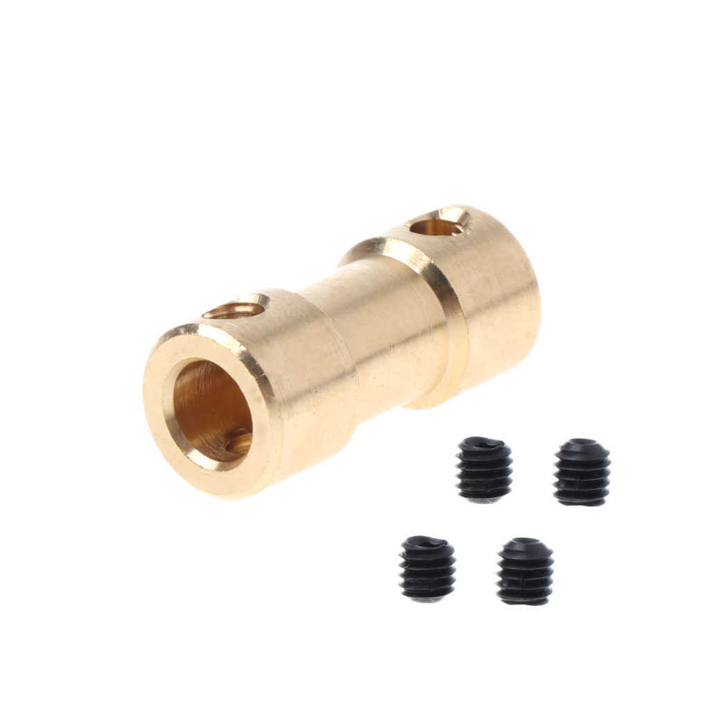 2-5mm Motor Copper Shaft Coupling Coupler Connector Sleeve Adapter US Drop Ship Support