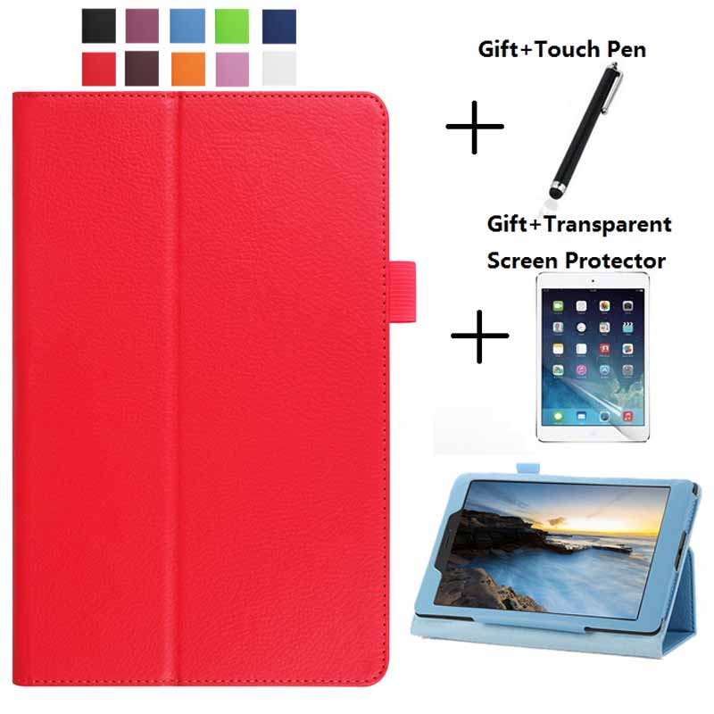 Light Weight Litchi SM-T231 Stand Folio Case For Samsung Galaxy Tab 4 7.0 SM T230 T231 SM-T230 7Inch PU Leather Flip Cover Shell