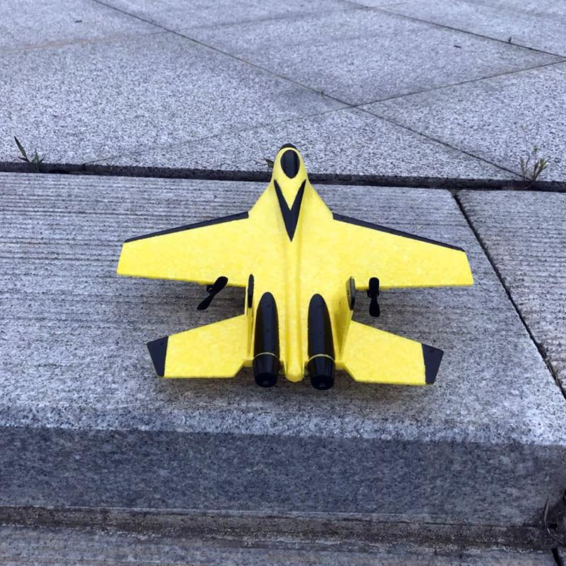 2.4G planeur RC drone SU35 aile fixe avion main lancer mousse dron électrique télécommande en plein air RC avion jouets pour garçons F22 2