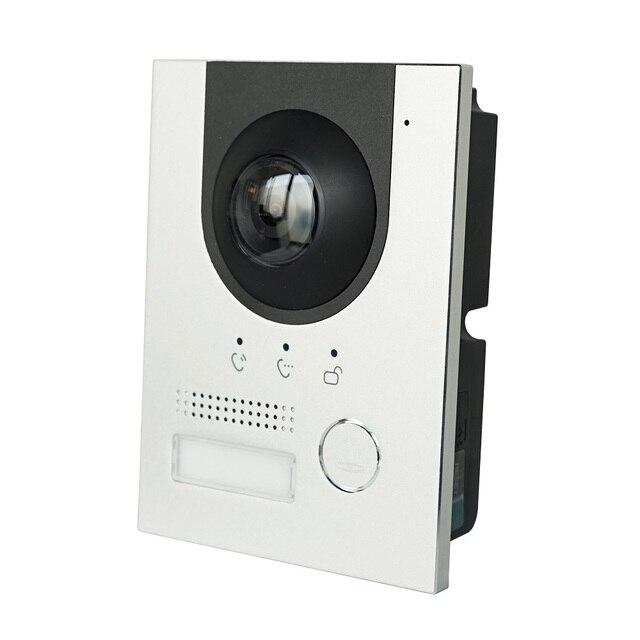 DH логотип VTO2202F-P PoE(802.3af) IP металлическая вилла дверной звонок, IP видеодомофон, вызов на телефон приложение, прошивка SIP