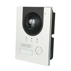 DH logo VTO2202F-P PoE(802.3af) IP Metal Villa timbre, teléfono de la puerta, timbre, IP Video intercomunicador, llamada a la aplicación de teléfono, SIP firmware