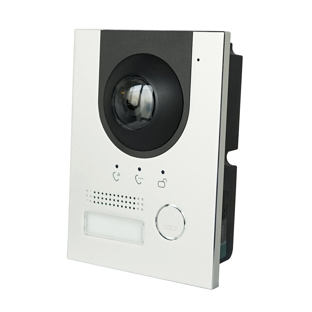 DH Logo VTO2202F-P PoE(802.3af) And 2-Wire IP Metal Villa Doorbell ,Door Phone,doorbell,IP Video Intercom, Call To Phone App