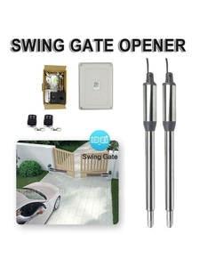 300kg Double Door Opener Motor Operate220V Transformer Door Opener Piston Drive Electric Swing Door Opener for Villa Patio Door