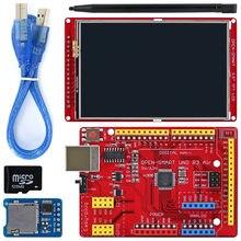 Kit de módulo de abertura inteligente, tela lcd de 3.5 polegadas 480*320 tft com plug fácil uno placa aérea r3 para arduino uno r3/nano