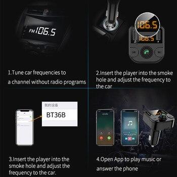 Sạc USB 3.1A Xe Hơi Bluetooth 5.0 Nghe FM Không Dây Cho Renault Lau Bụi Megane 2 3 Logan Clio Fluence Captur phụ kiện