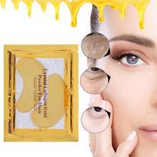 Коллагеновая кристальная маска для глаз опреснение темных кругов сумка для глаз против старения против морщин Уход за глазами увлажняющая укрепляющая повязка для глаз