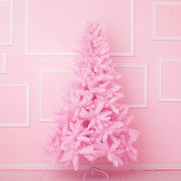 Pink Christmas Tree For Children Kids Girl Gift Decoration For Home Shopping Mall New Year Festival Party Lovely Xmas Pine Tree