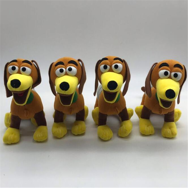 Disney Pixar Movie Toy Story 4 Woody Sheriff Stuffed Doll Spring Dog Plush Toys Children Birthday Gifts