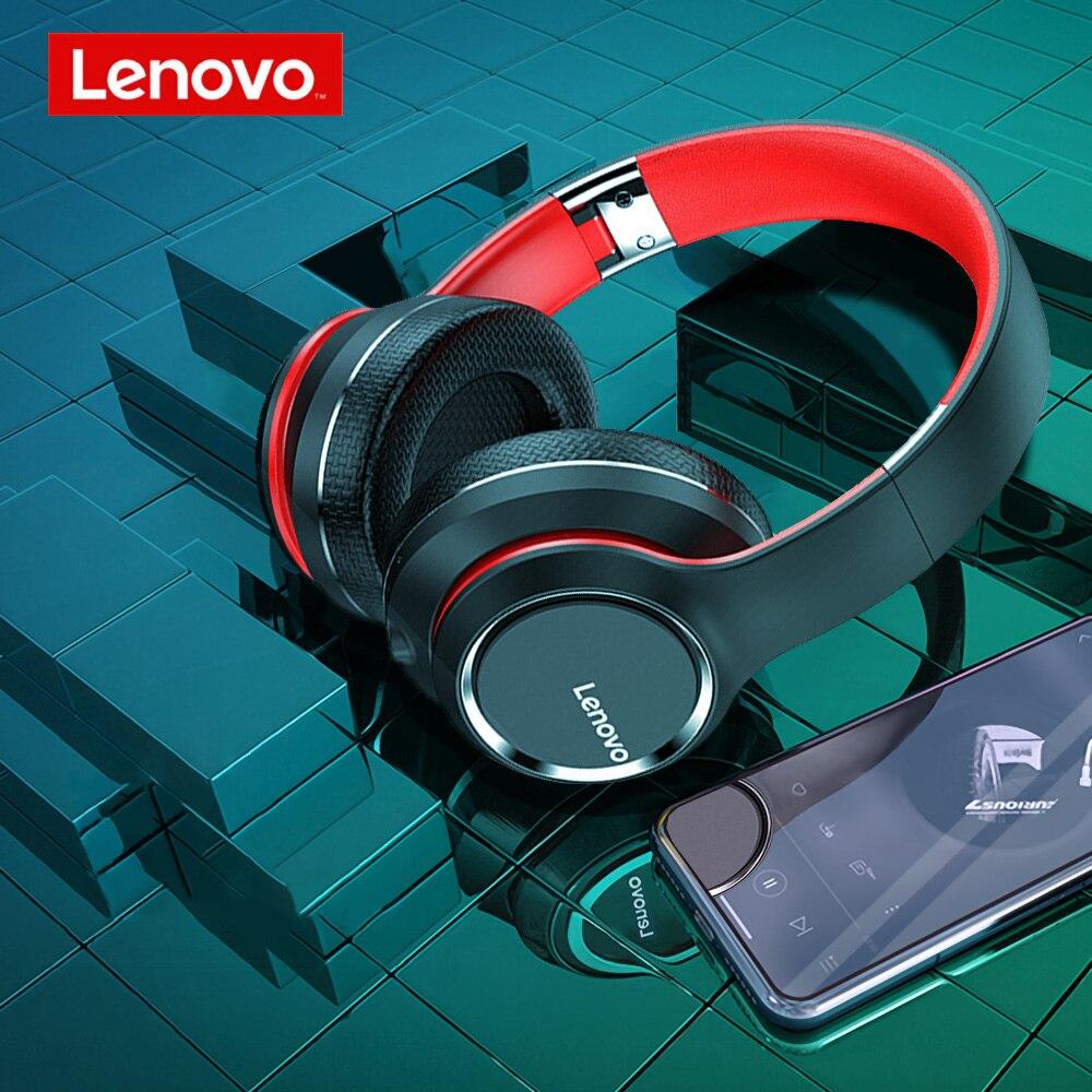Original Lenovo HD200 Bluetooth Headset Drahtlose Computer Kopfhörer BT 5,0 Lange Standby-Leben Mit Noise Cancelling für Xiaomi