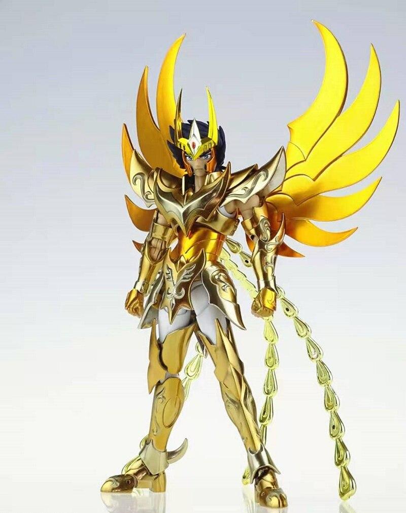 В наличии, отличные игрушки Saint Seiya Myth Cloth EX Phoenix Ikki V4 God Cloth, бронзовые игрушки GreatToys GT, экшн-фигурки