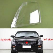 For Cadillac SLS 2007 2008 2009 2010 2011 2012 Transparent Headlamp Cover Lamp Shade Front Headlight Shell Lampshade Lens shell
