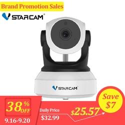 C7824WIP Original Vstarcam 720P Câmera IP Wifi Câmera de Vigilância CCTV Câmera de Segurança Night Vision IR PTZ Câmera Móvel Ver