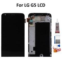 ЖК-дисплей для LG G5 H850 H840 H860, сенсорный экран в сборе с рамкой для LG G5 H830 F700, оригинальная запасная деталь