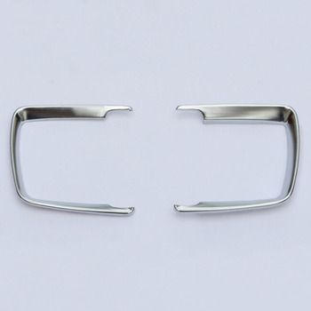 Frame Headlight switch trim Decor For BMW 1 2 3 4 Series X5 X6 Plastic Chrome Replacement image