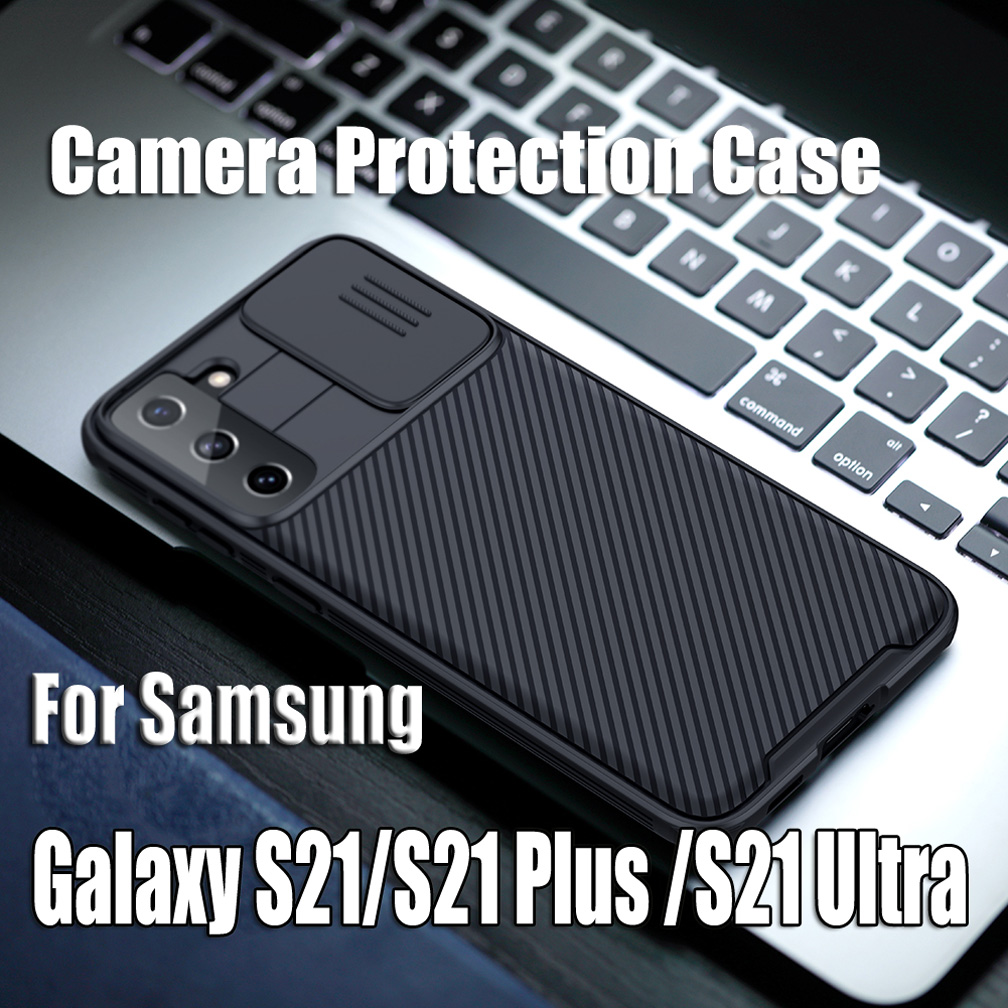 For Samsung Galaxy S21 S21+ Plus Case Nillkin CamShield Pro Case Slide Camera Protection Case For Samsung S21 Ultra Lens Cover