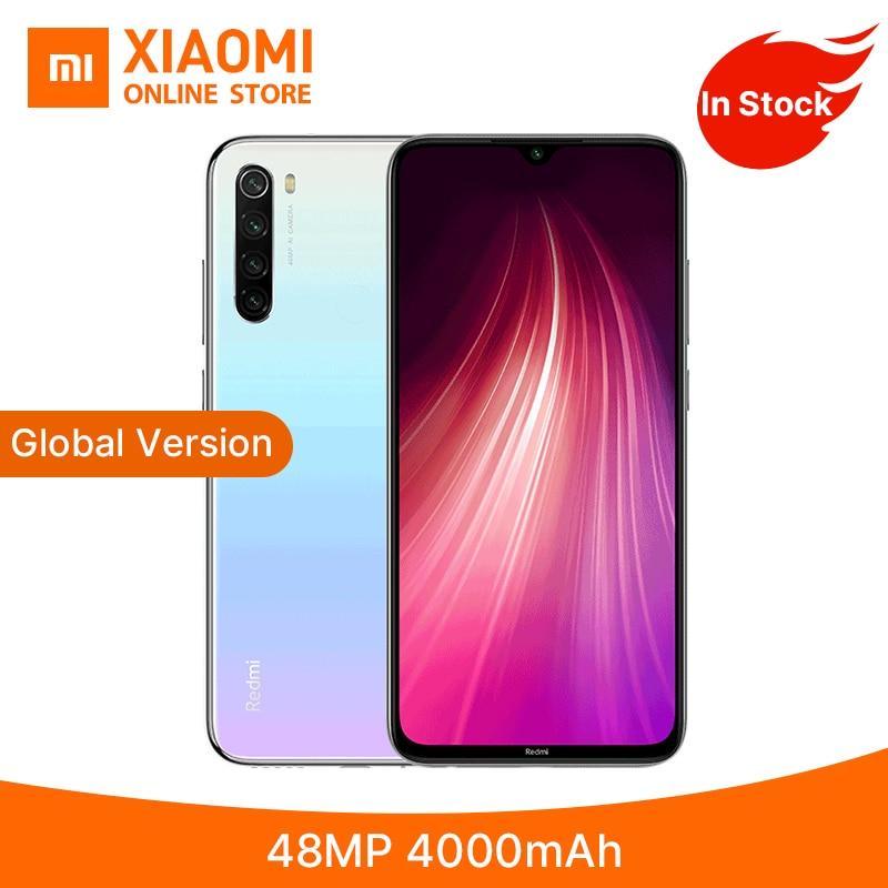 Global Version Xiaomi Redmi Note 8 32GB 64GB 128GB Smartphone 48MP Quad Camera 4000mAh Battery Snapdragon 665 6.33FHD Eye Screen