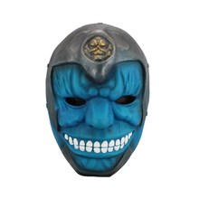 Resin Blue Anime Face Mask Funny Party Prop Scary TV Movie Play Halloween Cosplay Accessories