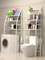 Floor bathroom shelves toilet shelfs bathroom shelf organizer 3 layers metal washer machine rack Creative sailing boat stand