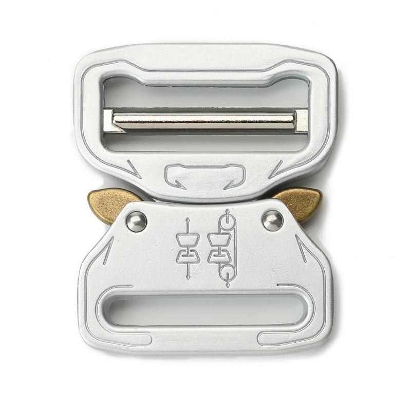 39 мм Наружная серебряная металлическая кнопка для ремня тактическая Кнопка Кобра мужская БЫСТРОРАЗЪЕМНАЯ кнопка