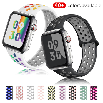 port silicone bracelet for apple watch band strap 42mm 38mm iwatch series 3 2 1 wrist belt camouflage watchband metal buckle Silicone Strap For Apple Watch band 44mm 40mm 38mm 42mm Accessories Sport wrist belt bracelet iWatch series se 6 5 4 3 watchband