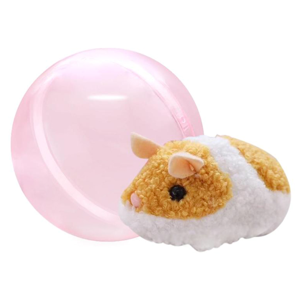 1 Set Kids Toy Baby Funny Toys For Boy Girl Running Hamster In A Ball Electric Plush Rolling Children's Intelligence Toy